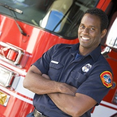 Well-rested first responder thanks to oral appliance therapy for firefighters in Lawton