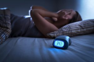 woman has stages of sleep in Lawton interrupted